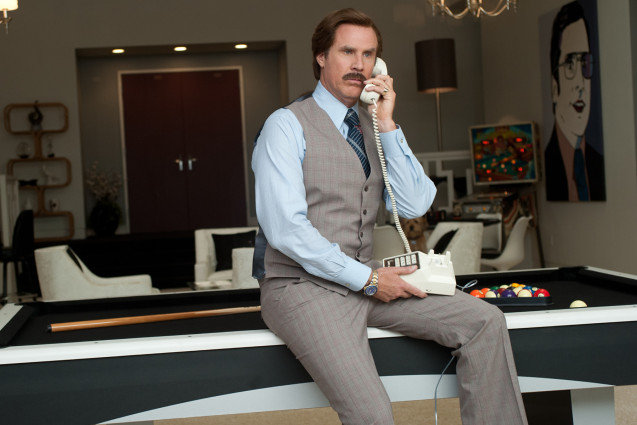 Anchorman 2, Will Ferrell