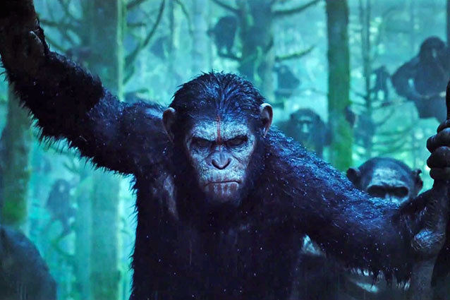 Dawn of the Planet of the Apes, Trailer