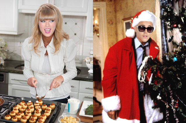 Taylor Swift, Justin Bieber, Holiday traditions