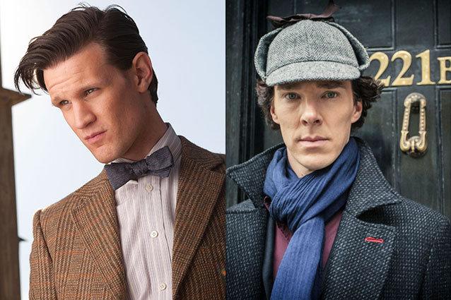 Matt Smith on Sherlock