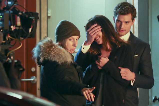 50 Shades of Grey, behind the scenes