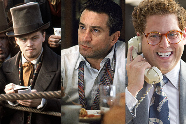 Gangs of New York, Goodfellas, The Wolf of Wall Street