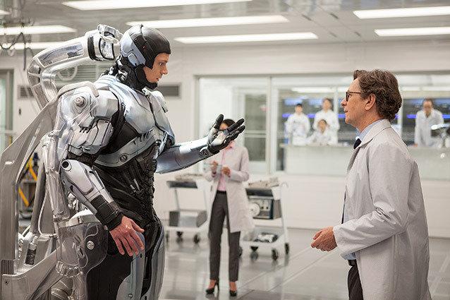 Robocop, Joel Kinnaman and Gary Oldman