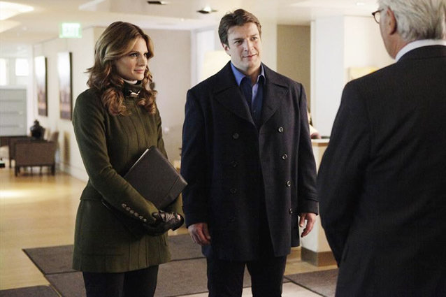 Castle, Nathan Fillion and Stana Katic