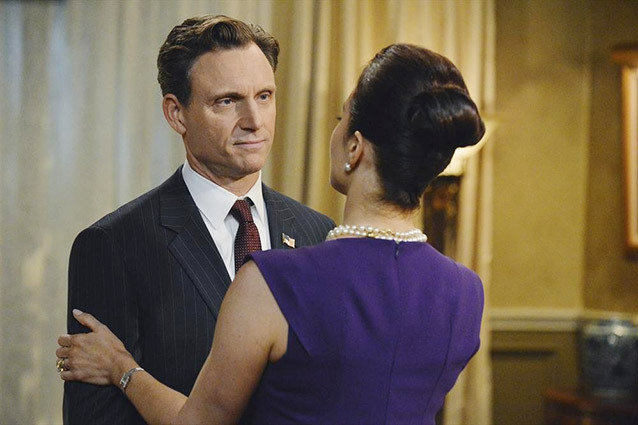 Scandal, Tony Goldwyn and Bellamy Young