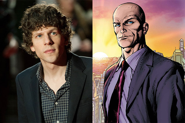 Jesse Eisenberg, Lex Luthor