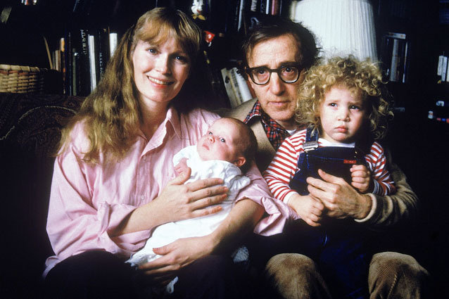 Woody Allen and Dylan Farrow