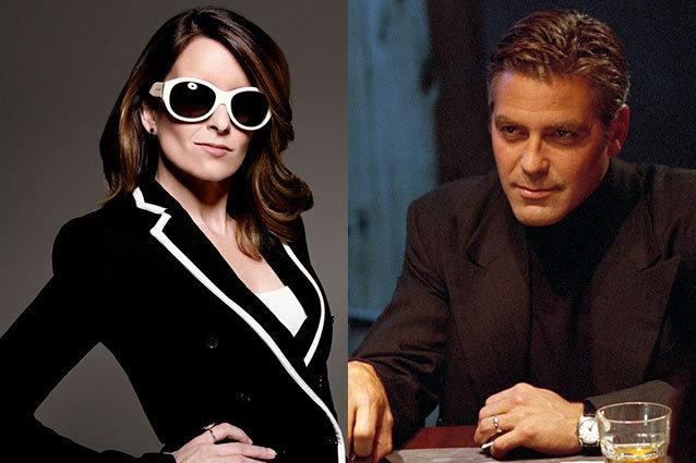 Tina Fey, George Clooney