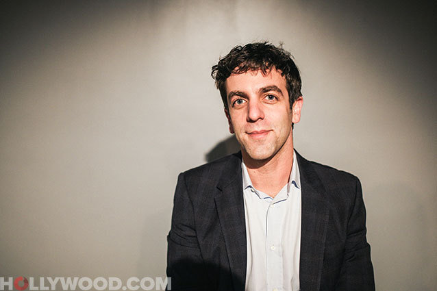 BJ Novak, Hollywood.com Press Pass