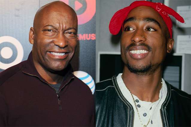 John Singleton and Tupac Shakur