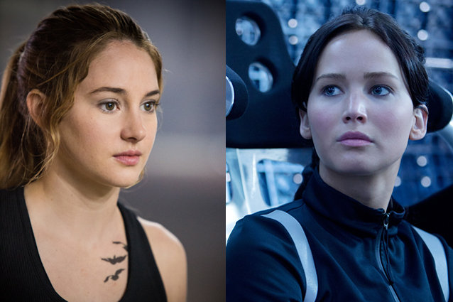 Divergent vs the hunger games divergent ccuart Choice Image