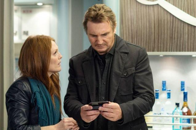 Liam Neeson, Julianne Moore, Non-Stop