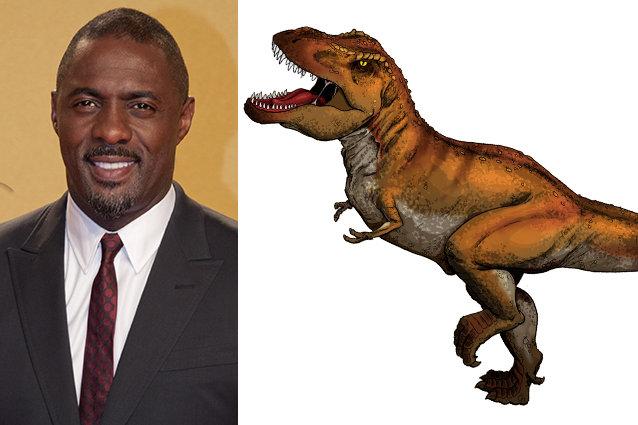 Idris Elba, Jurassic World Dinosaur Casting