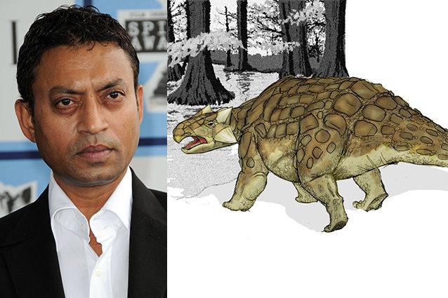 Irrfan Khan, Jurassic World Dinosaur Casting