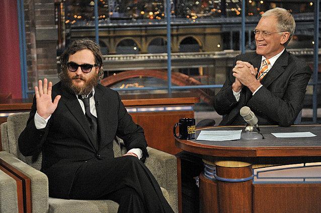 Joaquin Phoenix, David Letterman