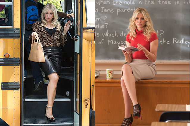 Bad Teacher, Show vs Movie