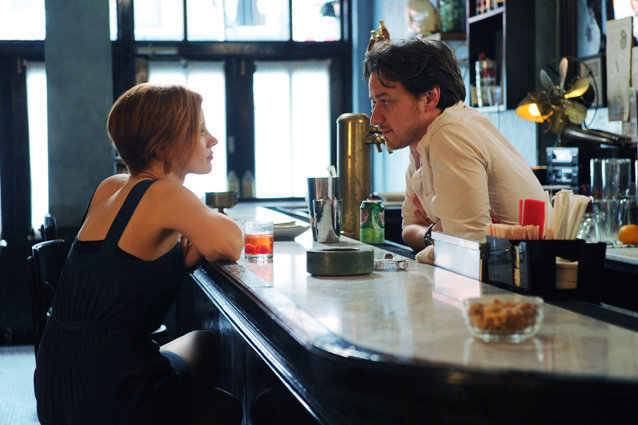 The Disappearance of Eleanor Rigby, Jessica Chastain and James McAvoy