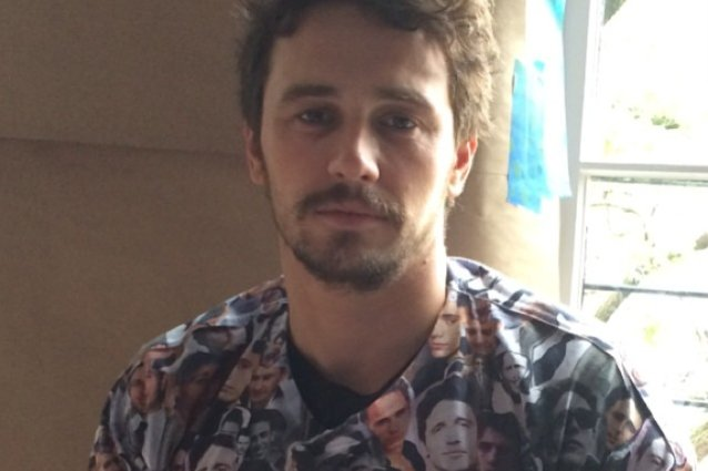 James Franco, Instagram
