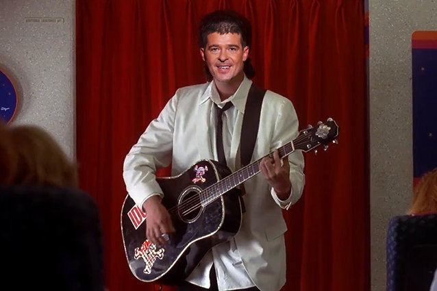 The Wedding Singer, Robin Thicke