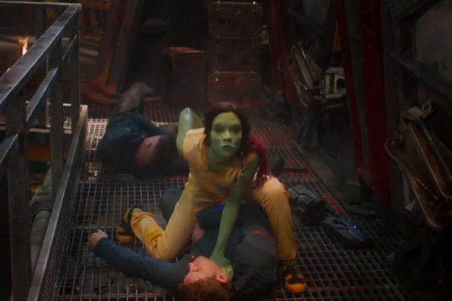 Guardians of the Galaxy, Zoe Saldana