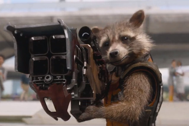 Guardians of the Galaxy, Racoon