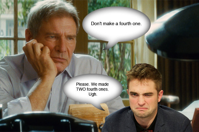 Robert Pattinson, Harrison Ford, Indiana Jones