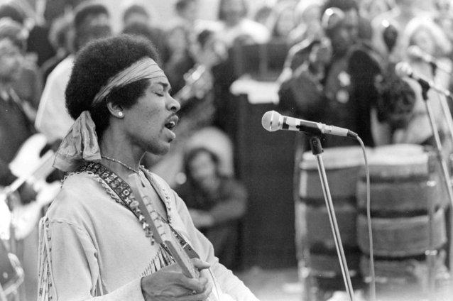 Woodstock, Jimi Hendrix, 1969