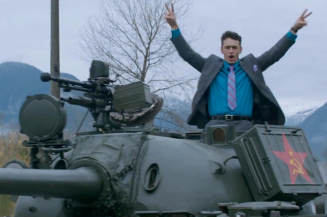 Two secret agents are sent on a mission to kill Kim Jung Un in 'The Interview'.