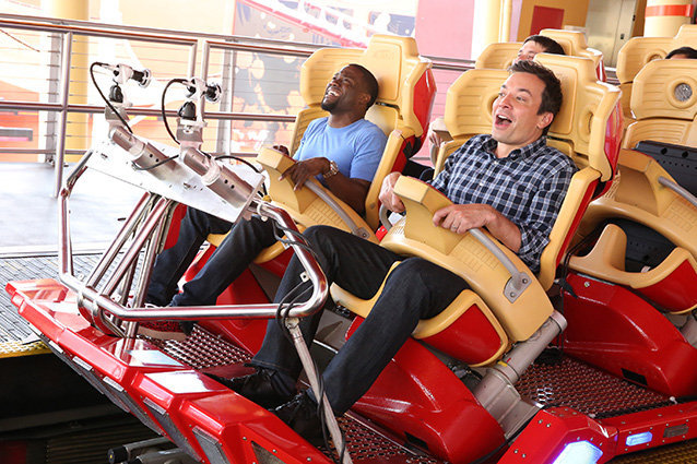 Jimmy Fallon and Kevin Hart
