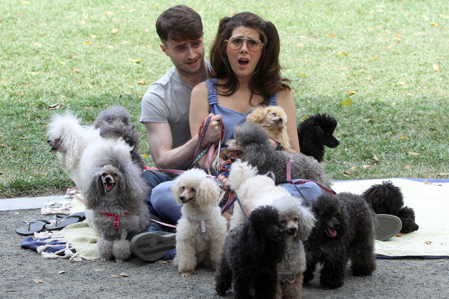 Daniel Radcliffe and Marisa Tomei