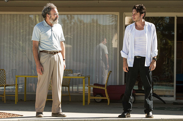 Wish I Was Here, Mandy Patinkin and Zach Braff