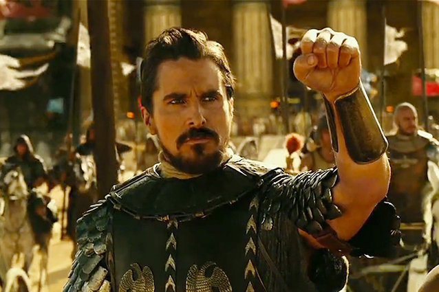 Exodus: Gods and Kings, Christian Bale