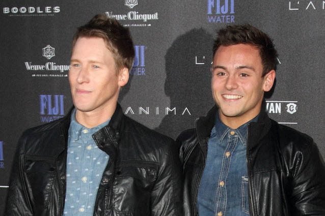 Dustin Lance Black, Tom Daley