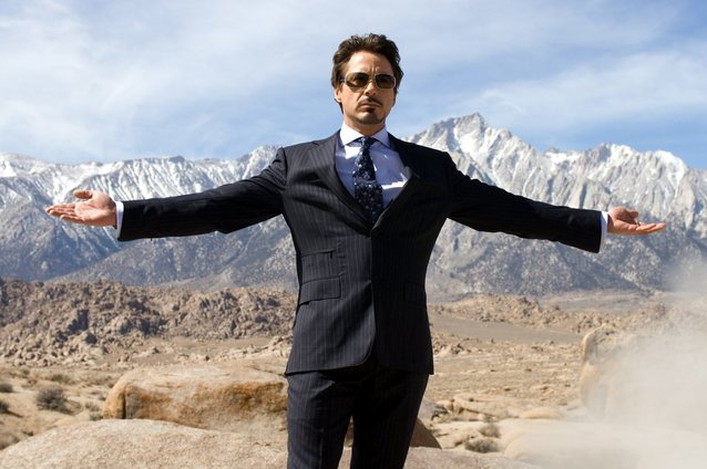 Robert Downey Jr., Iron Man