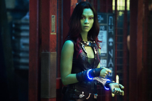 Guardians of the Galaxy, Zoe Saldana