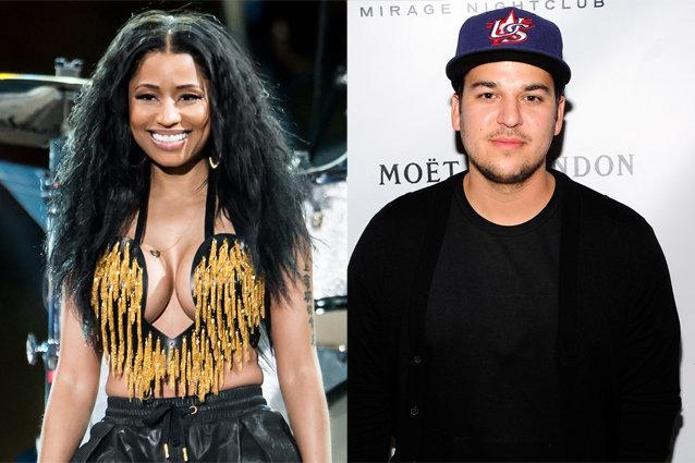 Nicki Minaj and Rob Kardashian
