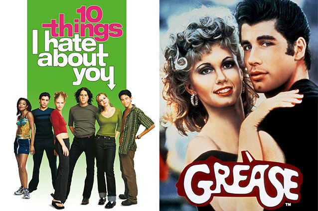 10 Things I Hate About You, Grease