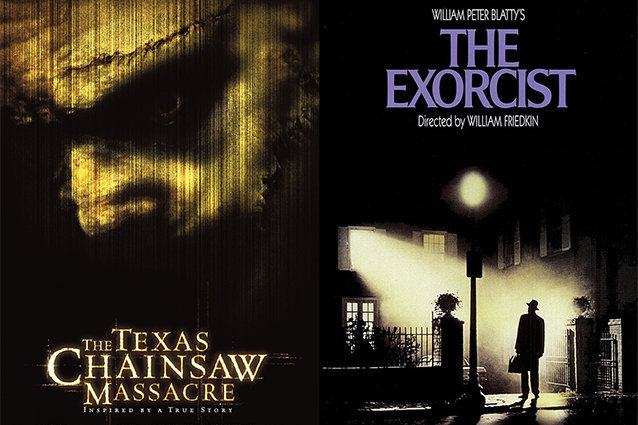 The Texas Chainsaw Massacre, The Exorcist