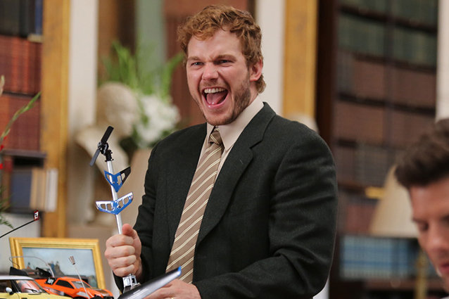 Parks and Rec, Chris Pratt