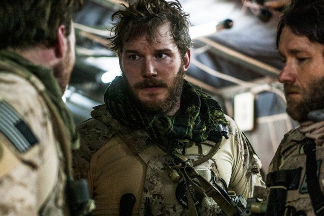 Zero Dark Thirty, Chris Pratt