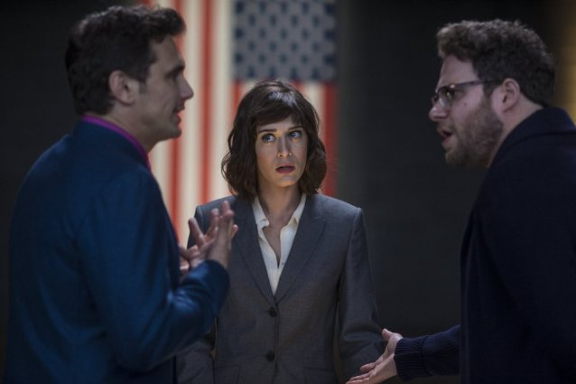 The Interview, Seth Rogen, James Franco, Lizzy Caplan