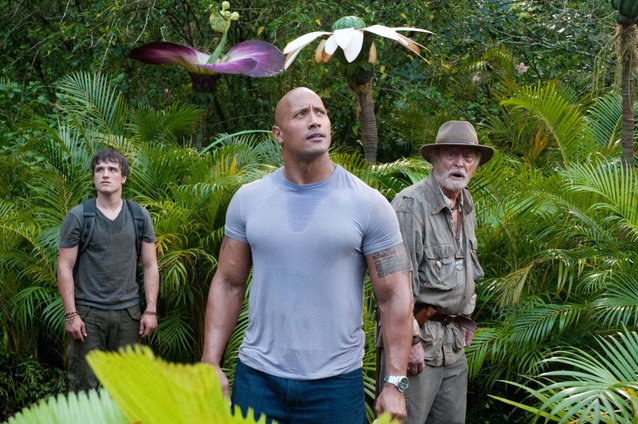 Dwayne Johnson, The Rock, Journey 2: The Mysterious Island