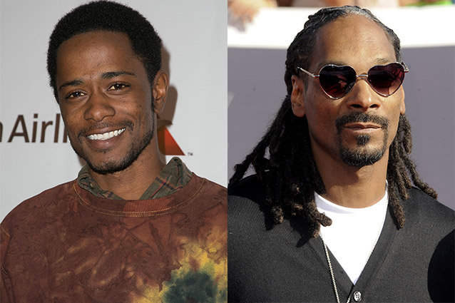 Keith Stanfield and Snoop Dogg