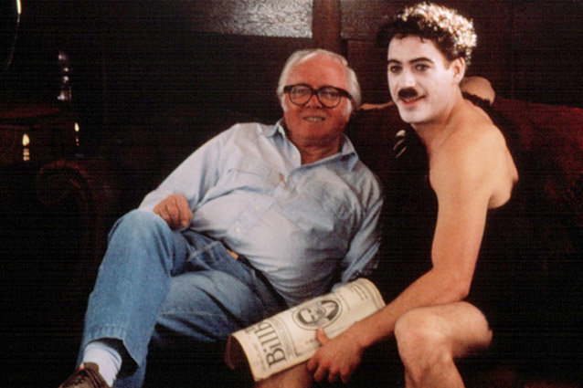 Robert Downey Jr. and Richard Attenborough