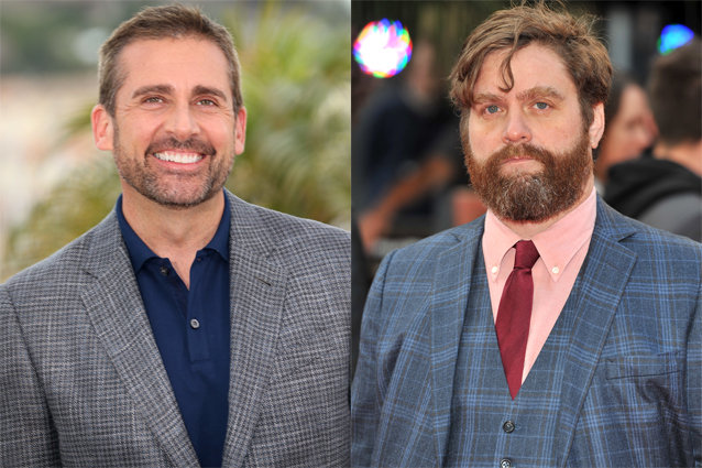 Steve Carell, Zach Galifianakis
