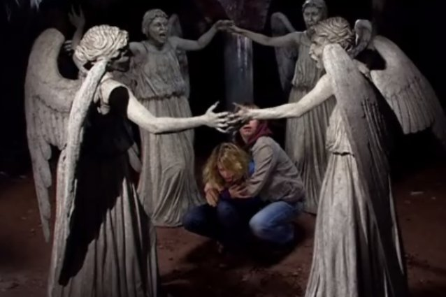 Dr. Who, weeping angels