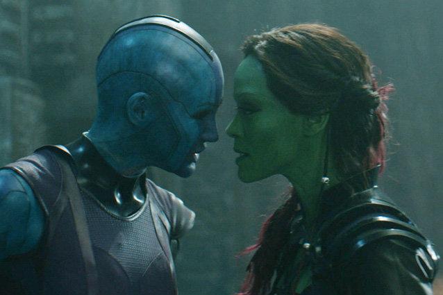'Guardians Of The Galaxy' Nebula Vs Gamora