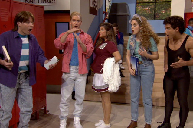 Jimmy Fallon, Saved by the Bell