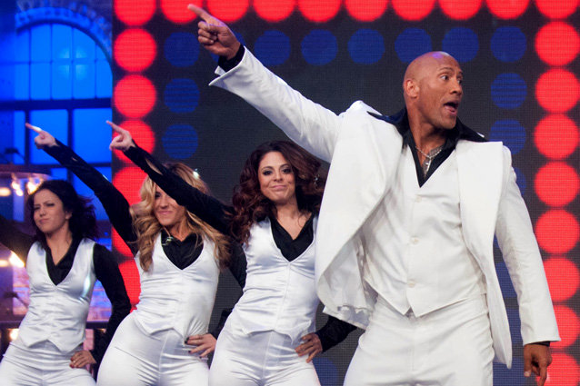 dwayne johnson singing shake it off is a must see