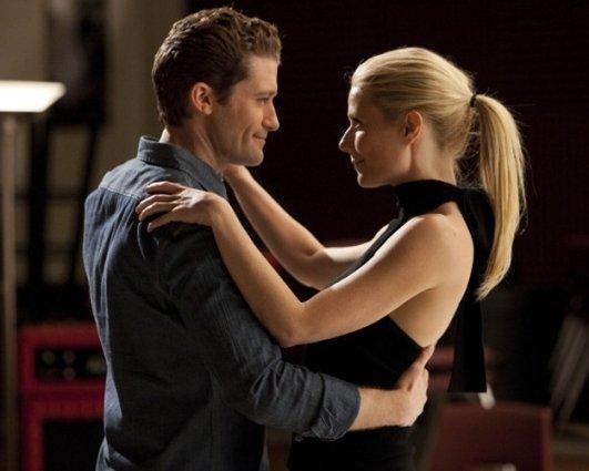 Gwyneth Paltrow and Matthew Morrison on Fox's 'Glee' (Season 2)